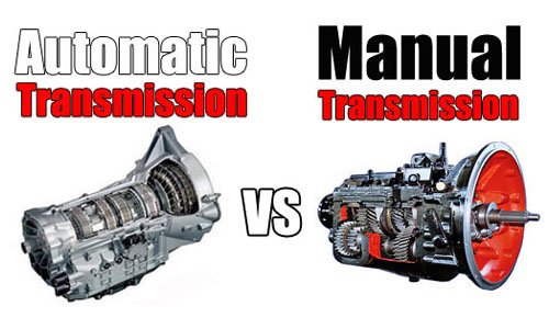 Why do cars with manual transmissions consume fuel more efficiently